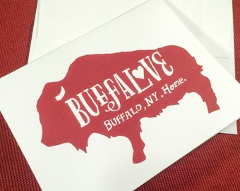 Buffalove Card