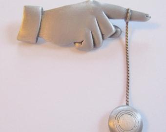 Very Rare JJ Jonette Finger with Dangling Articulating Yoyo