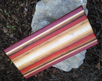 Handmade X-Large Exotic Wood Cutting Board ***FREE SHIPPING***