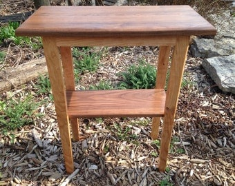 Handcrafted, Petite Home Decor, Elegant Side Table Furnishing
