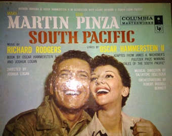 South Pacific - Rodgers and Hammerstein - vinyl record