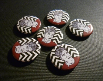 "David Lynch Handmade 1"" Button Badge"