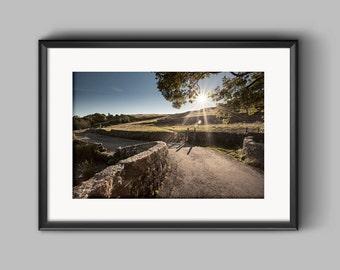 Malham Sunset, Yorkshire, a fine art landscape photograph
