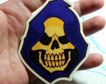 MOTU Skeletor - High Gloss vinyl sticker