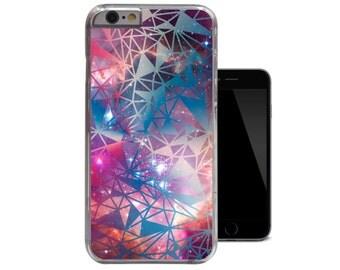Geometric iPhone 6 Case Blue Nebula iPhone 5 5s Case Pink Galaxy iPhone 5c Case Space iPhone 4 4s Case (A211)