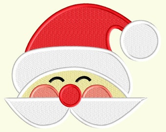 Santa Machine Embroidery Pattern