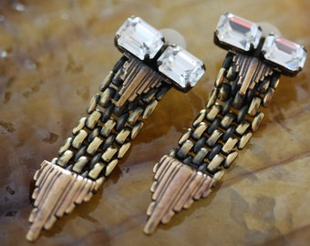 Beautiful Ermani Bulati Deco Earrings