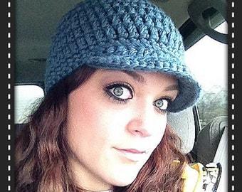 Crochet Brimmed Cap