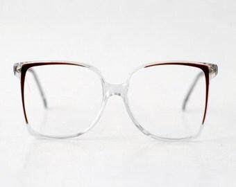 Vintage Azzardo Cat Eye Sunglasses Womens Orange By Htvshop