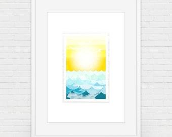 A Coastal Sunrise