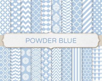 Lumi re bleu poudre arri re plans imprimable mod le for Carrelage quadrilobe