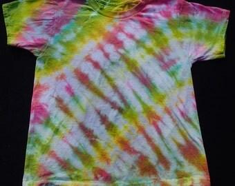 Child's Medium Tie-Dyed T-Shirt