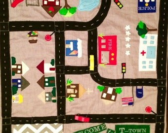 Nap and Play Car Mat Blanket