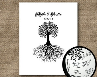 Wedding Tree Guest Book, Wedding Guestbook, Wedding Guest Book Alternative, Wedding Guestbook Alternative, Wedding Tree, Wedding Keepsake