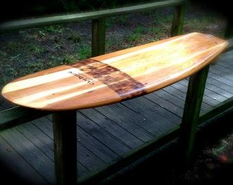 Hollow Wood Surfboard