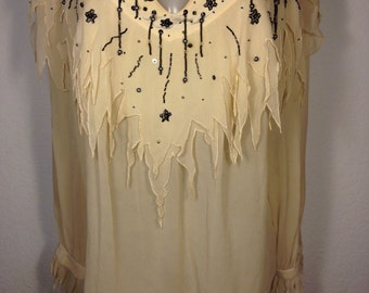 FREE  SHIPPING   Mercedes & Adrienne  Blouse