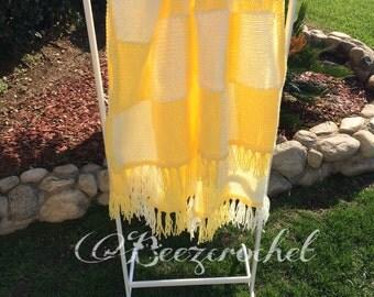 Baby First Blanket, Checkered Blanket