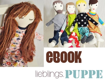 eBOOK # 71 favorite. 80 cm doll - only in german language