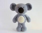 Amigurumi Koala, Plush Koala, Crochet Koala, Australian Animal Toy, Crochet Animal, Koala Bear, Australian Made, Baby Safe