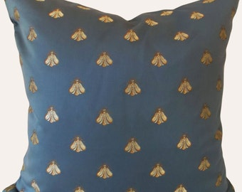 Bee Decorative Pillow Cover - Bruvatex - Throw Pillow - Accent Pillow - Both Sides - 12x18, 12x20, 14x24, 18x18, 20x20, 22x22