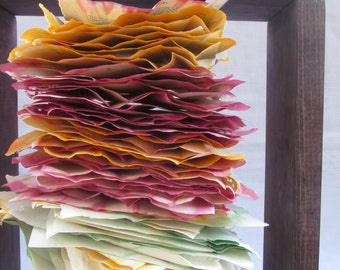 Stacked: Mixed Media Altered Book Sculpture