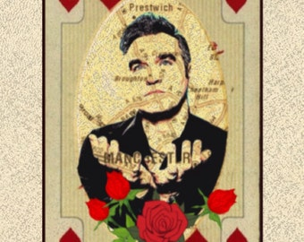 Morrissey Greeting Card
