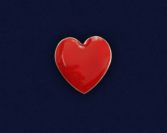 Large Red Heart Pin (RETAIL) (RE-P-02L-HRT)