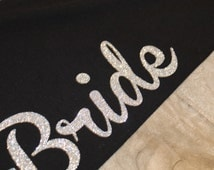 Bride yoga pants, maid of honor yoga pants, bridesmaid yoga pants, bridal party yoga pants, lounge pants, goes great with bride tank