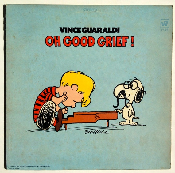 Vince Guaraldi Oh Good Grief Lp Vinyl Record Album Warner