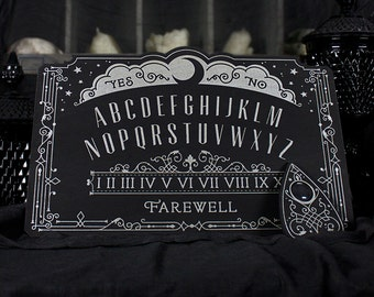 Lunar Filigree Spirit Board - Ouija Board - Full Size