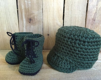 Baby combat boots | Etsy