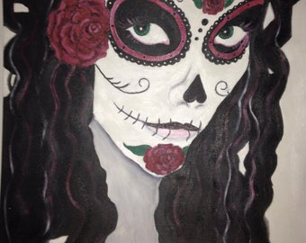 Oil Painting Dia de Los Muertos Collection #2 (Day of the Dead)
