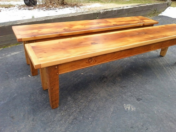 Items Similar To Reclaimed Barn Wood Furniture Kitchen Dining Conference Table Bench Seating On Etsy