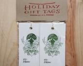 Green Man Gift Tags (set of 6)