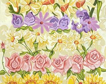 Botanical Alice 8x10 Fine Art Quality Print