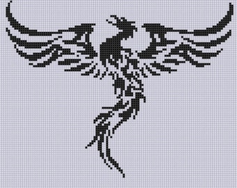 Phoenix 2 Cross Stitch Pattern