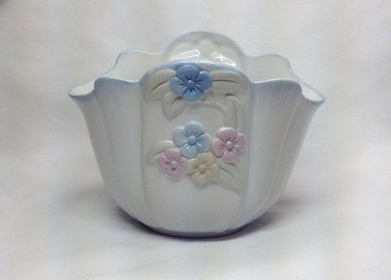 Vintage Ftd Especially For You Flower Planter Vase Ceramic