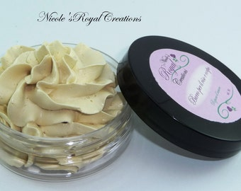 Gift for her, Belly cream and Butt thigh- Organic Vegan Whipped Body butter -Body Mousse, Body Cream, Pregnancy cream, stretch marks cream