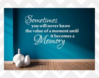 Sometimes You Will Never Know Wall Decal Dr Seuss Quote