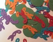 120 Pieces TMNT, Teenage Mutant Ninja Turtles Paper Confetti, Table Scatter, Birthday, Wedding, Baby Shower, Embellishments Decorations