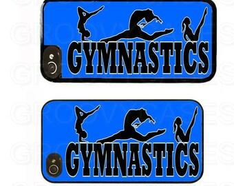 iPhone 4 4s 5 5s 5c SE Case Rubber Gymnastics