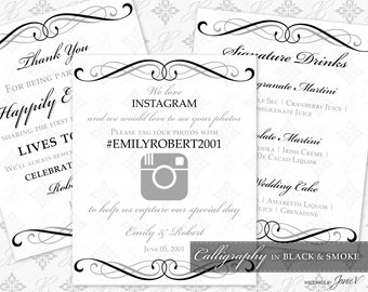 printable wedding sign template please sign our guestbook. Black Bedroom Furniture Sets. Home Design Ideas