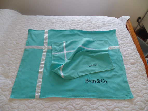 Baby Blanket Gift Box : Satin lined gift box blanket by baby co custom name