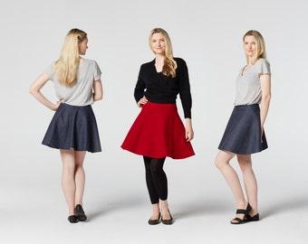 Skater Skirt Sewing Pattern