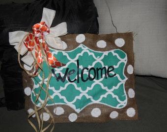 Welcome doorhanger
