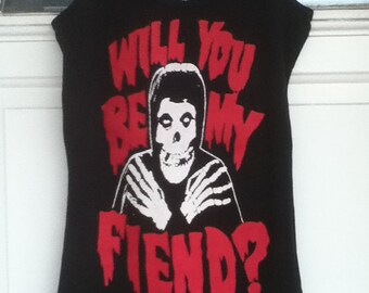 Will You Be My Fiend? Woman Tank