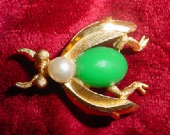 B.S.K. Insect Brooch