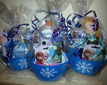 Custom Small Bucket Favors, Personalized Party Totes, Personalized Party Favors, Custom Plastic Bins