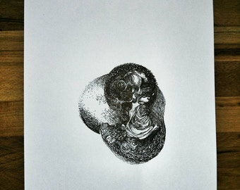 Thing, A4, draw ink ink drawing