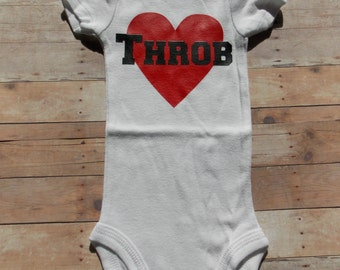 Red Heart Throb Bodysuit